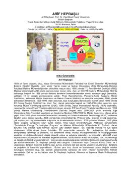 YÜKSEKÖĞRETİM KURULU - Enerji Sistemleri Mühendisliği