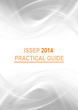 Info Pack - ISSEP 2014