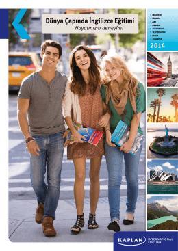 Kaplan International 2014 Türkçe Broşür