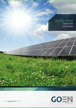 GO Enerji - GOEN® Tanıtım Broşürü