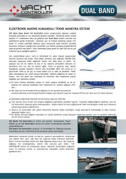 Dualband Tanım - Yachtcontroller