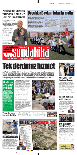 AK Parti İzmir Milletvekili Binali Yıldırım