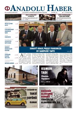 dünya çevre günü - Anadolu Haber Gazetesi
