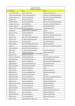 Kopya stajer başvuruları 2014(SON HALİ)