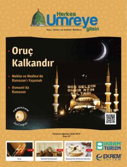 Ramazan - İkram Turizm