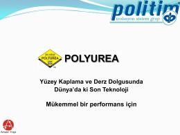 Uygulama... - Polyurea - Poliurea Zemin Kaplama Endüstriyel