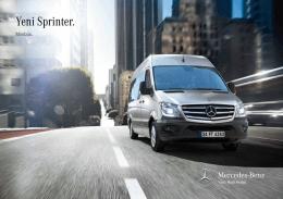 Sprinter Minibüs broşürünü indir (PDF)