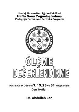 X - ercantuncel.net - Uludağ Üniversitesi