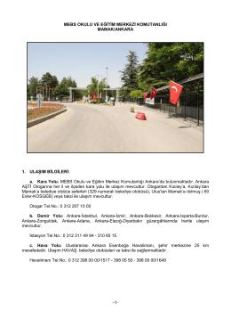 MEBS Okulu ve Eğitim Merkezi Komutanlığı