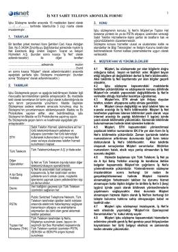 THK Sözleşme 2014