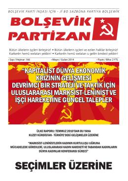 SEÇIMLER ÜZERINE - Bolşevik Parti