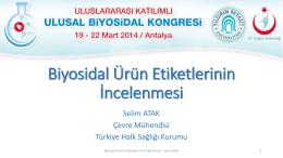 Selim ATAK