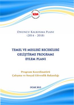 Temel ve Mesleki Becerileri Geliştirme Programı Eylem Planı
