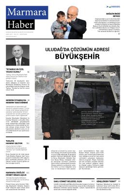 bÜyÜkŞehir - Marmara Belediyeler Birliği