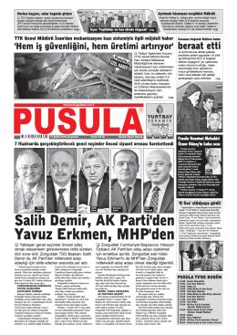 Yavuz Erkmen, MHP`den