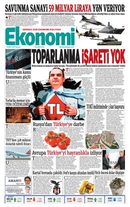 23 MART 2015 - Ekonomi Gazetesi