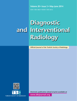 Diagnostic Interventional Radiology and Diagnostic Interventional