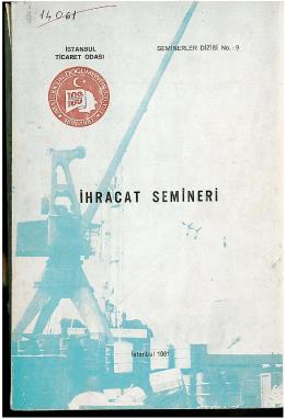 iHRACAT SEMiNERi