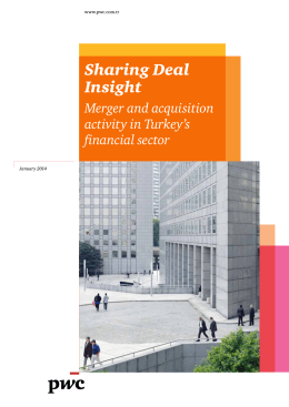 Sharing Deal Insight