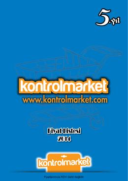Fiyat Listesi - Otomasyon Kontrol Market