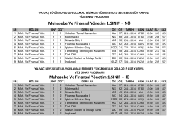 MuhVize - Yalvaç Büyükkutlu Uygulamalı Bilimler Yüksekokulu