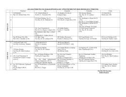 iibf 2007-2008 öğretim yılı yaz dönemi kamu yönetimi bölümü ders