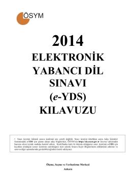 e-YDS 2014/1