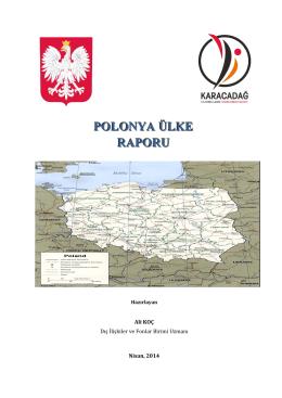 Polonya Ülke Raporu, A.KOÇ - Karacadağ Kalkınma Ajansı