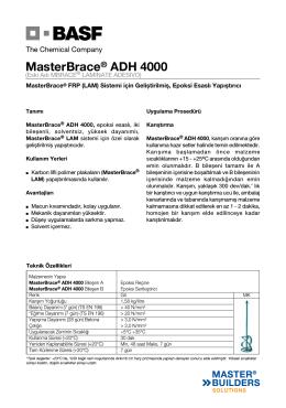 MasterBrace® ADH 4000