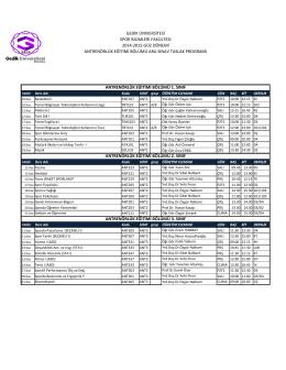 (2014-2015 G\334Z DERS PROGR GENEL 4.xlsx)