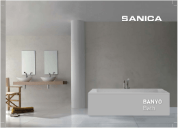 SANICA BANYO 2014 KATALOG.indd