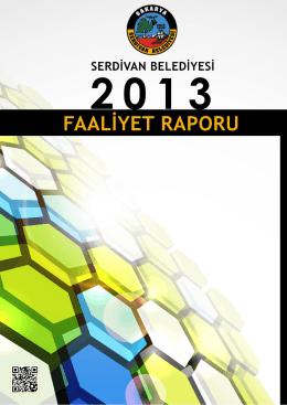 2013 Faaliyet Raporu - Serdivan Belediyesi
