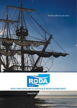 roda 2013 yılı faaliyet raporu