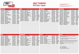 MAC PANORA - Mars Athletic