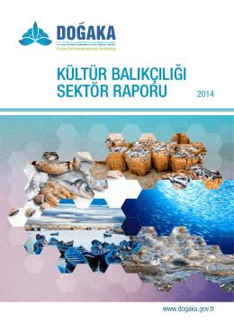 kültür balıkçılığı sektör raporu