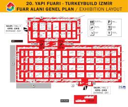 Turkeybuild İzmir 2014 Ziyaretçi Rehberi