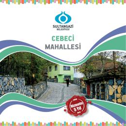 CEBECİ MAHALLESİ - Sultangazi Belediyesi