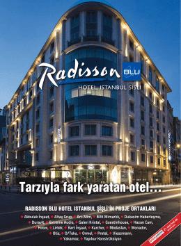 Radisson Blu Hotel İstanbul Şişli