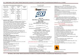 etiket oxy dez 102 alkol bazlı yüzey dezenfektanı