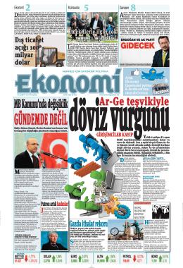 3 şubat 2014 - Ekonomi Gazetesi