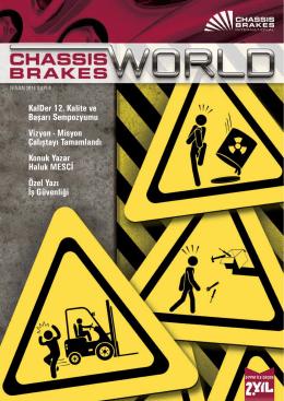 Sayı 4 - 2014 - Nisan - Chassis Brakes International Türkiye