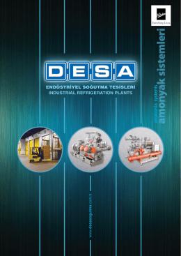 amonyak sistemleri - DESA Soğutma sistemleri