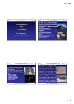 betonarme 2 dersi ım 310 genel tanıtım