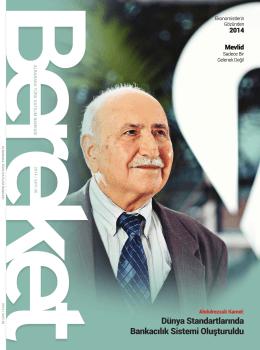 Sayı:36 Bereket Dergisi 2014 (5.50 MB)