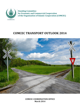 COMCEC TRANSPORT OUTLOOK 2014