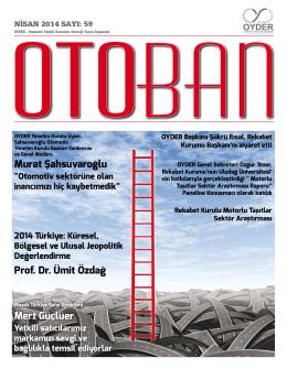 Otoban Dergisi | Sayı 59 Nisan 201421.05.2014