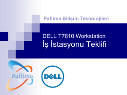 Dell Precision Workstation T7810