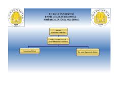 Mali İşler İş Akışı - Dicle Üniversitesi