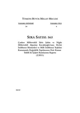 563 - Türkiye Büyük Millet Meclisi