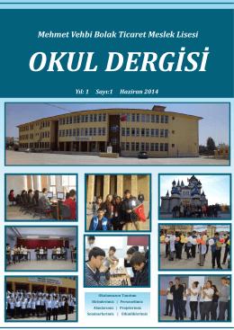 E-Dergi - Milli Eğitim Bakanlığı